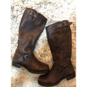 Brown Frye Boots